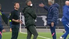 Enganchón entre Mourinho y Lampard: sus gestos lo dicen todo