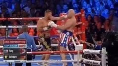 Lección magistral de Tyson Fury contra Tom Schwarz para ganar la pelea