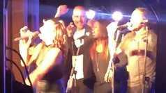 Guardiola en plan corista y bailarín de Madonna: Lo peta con el Just Like A Prayer