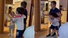 Mateo Messi lo vuelve a hacer: así trolea mientras bailan al ritmo de BizarraP