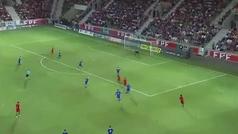 El impresionante eslalon de Diogo Goncalves en el Portugal-Bosnia sub21