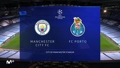 Champions League (J1): Resumen y goles del Manchester City  3-1 Oporto
