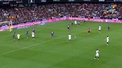 Gol de Oro (J32). Gol de Guedes (2-1) en el Valencia 3-1 Levante