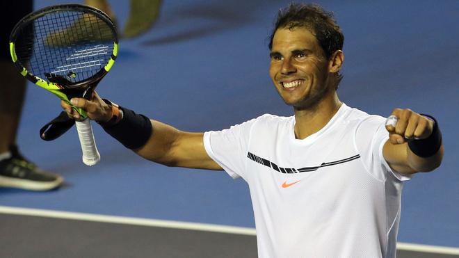 Rafael Nadal regresa al Abierto Mexicano