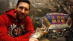 """Leo Messi: """"Escuchaba los nominados al Balón de Oro y sabía que no estaría en la pelea"""""""