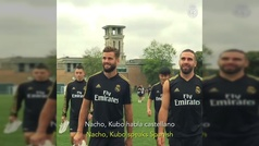 """Nacho: """"Kubo habla castellano mejor que nosotros"""""""
