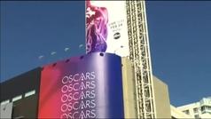 Los Ángeles se preparan para los Oscar