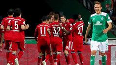 Copa Alemania (semifinales): Werder Bremen 2-3 Bayern Múnich