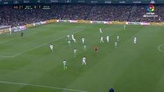 Gol de Canales (1-1) en el Betis 1-2 Real Madrid