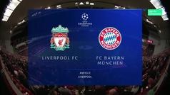 Champions League (octavos, ida): Resumen del Liverpool 0-0 Bayern Munich