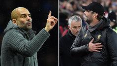 """Guardiola y Klopp defienden a Mourinho: """"No se puede olvidar lo que ha ganado"""""""
