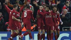 Champions League (J6): Resumen y goles del Liverpool 1-0 Nápoles