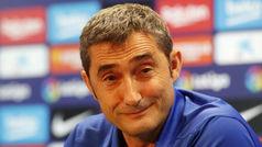 """Valverde: """"Decidiremos antes del partido si Leo puede jugar"""""""