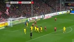 El córner del Dortmund inspirado en el baloncesto: bloqueos múltiples y voleón de Witsel