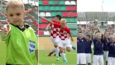 La divertida recreación de la final del Mundial de Rusia protagonizada por niños