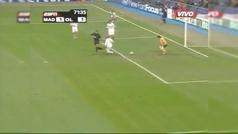 El taconazo de Carew contra el Real Madrid en el Bernabéu