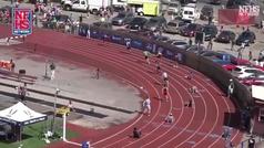 La remontada imposible en Estados Unidos: 4x100m, le dan el relevo el séptimo...