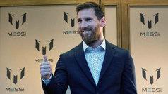 Messi presenta en Barcelona su marca de ropa