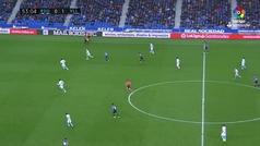 Gol de Antoñito (0-2) en el Real Sociedad 1-2 Valladolid