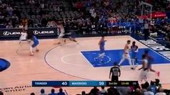 Luka Doncic siente el picorcito: un paso adelante, otro atrás... y triple