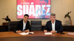 Luis Suárez pasa reconocimiento con éxito