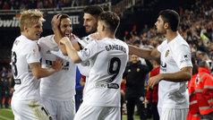Copa del Rey (semis, vuelta): Resumen y gol del Valencia 1-0 Betis
