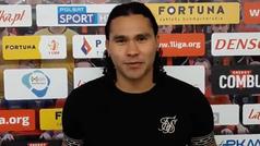 Gullit Peña y su nuevo club mandan saludos a la afición mexicana
