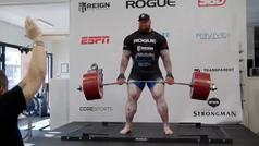 De esta manera levantó Hafthor Bjornsson 501 kg de peso muerto