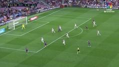 Gol de Coutinho (2-0) en el Barcelona 3-0 Alavés