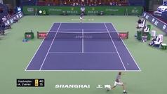 Así fue la victoria de Medvedev ante Zverev en la final del Masters de Shanghái