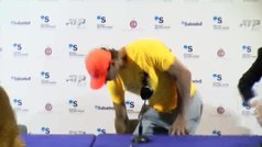 """Rafa Nadal: """"Ha sido un honor despedir a David y un momento triste para el tenis y el deporte español"""""""