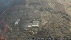 Preocupación en La Palma por el rumbo que tome el dedo desgajado de la colada norte