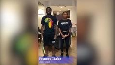 El tenista Tiafoe reúne a 30 voces del tenis para decir basta