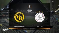 Europa League (octavos, vuelta): Resumen y goles del Young Boys 0-2 Ajax