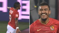 Tercer doblete de Paulinho en su regreso a China: ¡lleva 7 goles en 7 partidos!
