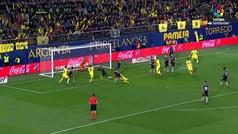 Gol de Álvaro González (1-0) en el Villarreal 3-0 Sevilla
