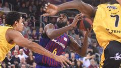 Liga ACB. Resumen: Barcelona 77-73 Iberostar