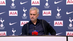 "La queja de Mourinho: ""Queremos luchar por la Carabao Cup, pero no vamos a poder"""
