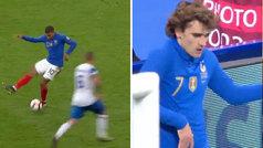 El precioso taconazo de Mbappé para el gol de Griezmann ante Islandia
