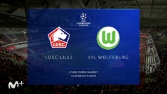Champions League (J1): resumen del Lille 0-0 Wolfsburgo