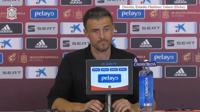 España vapuleó al subcampeón del mundo Croacia por 6 a 0