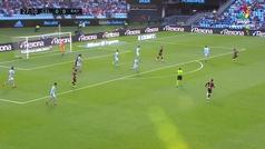 Gol de Embarba (p.) (0-1) en el Celta 2-2 Rayo