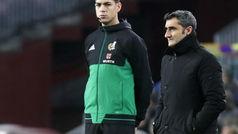 """Valverde: """"Sabía perfectamente que Chumi estaba sancionado con el B"""""""