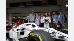 Tatiana Calderón termina el primer día de pruebas con Alfa Romeo Sauber F1