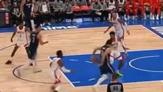 La última fantasía de Luka Doncic ante los Rockets: embuste trasero y pase