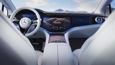 Así es el impresionante interior del Mercedes EQS