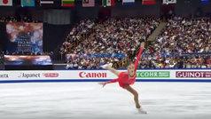 La kazaja Tursynbaeva hace historia con su cuádruple 'salchow'