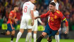 La celebración interruptus de Ramos: gol en el 97'... y final del partido