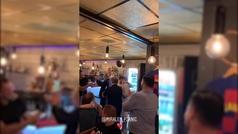 La fiesta de celebración de Pjanic de su fichaje por el Barça: camisetas blaugranas y llorando emoci