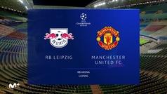 Champions League (J6): Resumen y goles del RB Leipzig 3-2 Manchester United